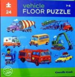 vehicle FLOOR PUZZLE 24 Pieces Puzzle by crocodile creek