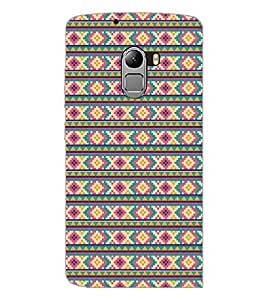 PrintDhaba Pattern D-5206 Back Case Cover for LENOVO K4 NOTE A7010a48 (Multi-Coloured)