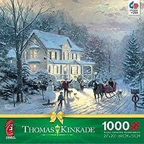 Thomas Kinkade Holiday Home for the Holidays