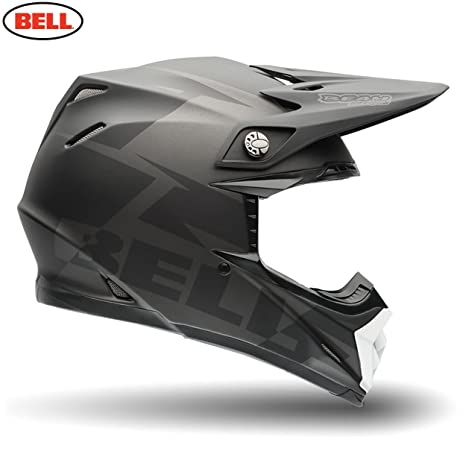 Bell Casques 7062837 MX 2015 MX-9 Adult Casque, Barricade Noir, Medium