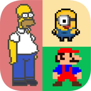 Who am I? Guess the Pixel Character Quiz by All in a Days Play Pvt Ltd.