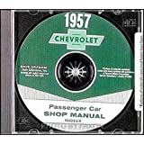 1957 Chevrolet CD Repair Shop Manual Bel Air Nomad 150 210 57 Chevy