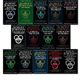 The Wheel of Time, 13 Books Collection Set by Robert Jordan. (The Eye of the World, The Great Hunt, The Dragon Reborn, The Shadow Rising, The Fires of Heaven, Lord of Chaos, A Crown of Swords, The Path of Daggers, Winter's Heart, Crossroads of Twilight,
