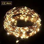 Diateklity LED String Lights Wire Lig...