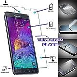 """Buena calidad de Samsung Nota 4 """"Anti-explosión"""" templado Cristal Crystal Clear Protector de pantalla para Samsung Galaxy Note 4"""