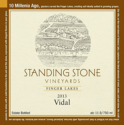 2013 Standing Stone Vineyards Finger Lakes Vidal 750 Ml