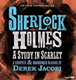 img - for Sherlock Holmes: Study in Scarlet: An Unabridged Reading by Sir Derek Jacobi book / textbook / text book