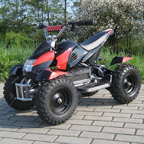 ATV-Cobra-Mini-quad-tout-terrain-lectrique-pour-enfant-rougenoir-800-W