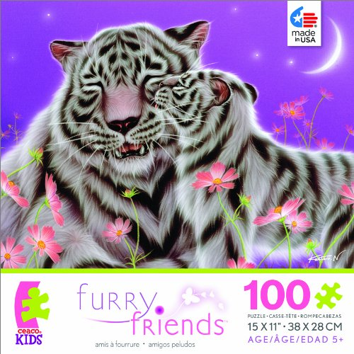 Furry Friends I Love You, Mom Jigsaw Puzzle