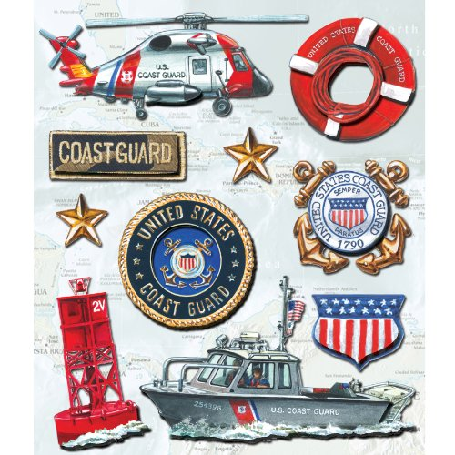 K&Company Coast Guard Sticker Medley