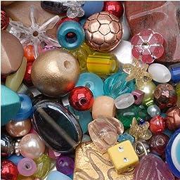 eCrafty EC-4975 Mr. Kitty\'s Big Bead Bonanza Beads Mix, 1/2-Pound