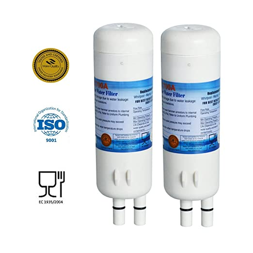 Water Filter Replacement For Whirlpool Refrigerator 2 Pack Replaces Whirlpool Filter 1 W10295370 W10295370A ...