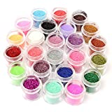 45 Colors Nail Art Make Up Body Glitter Shimmer Dust Powder Decoration