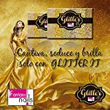 Fantasy Nails Sinaloa - Glitter it - Gold Collection - 6pcs To Apply W Acrylic