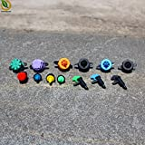 Generic Green : 50pcs Drip Irrigation System Drip Water-Saving Irrigation Adjustable Nozzle Atomizer Garden Sprinklers...