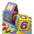 Foamies Soft Alphabet & Numbers Puzzle Playmat 36pcs With Storage Bag