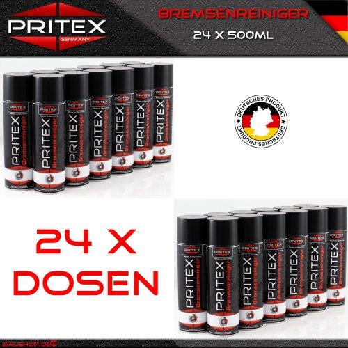 bremsenreiniger-24-x-500ml-teilereiniger-eur-280-l-inkl-mwst-bremsen-reiniger-spray-pritex-qualitat