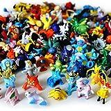 Lots 144pcs Pokemon Pikachu Monster Action Figures Multicolor 2-3CM