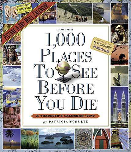 1,000 Places To See Before You Die Picture-A-Day Wall Calendar 2017