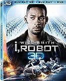 I, Robot [Blu-ray 3D + Blu-ray + DVD] (Bilingual)