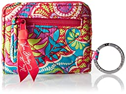 Vera Bradley Campus Double ID Pouch, Paisley In Paradise, One Size