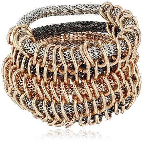 steve-madden-tri-tone-multi-row-mesh-stretch-cuff-bracelet-by-steve-madden