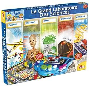 Lisciani Giochi - F42333 - Jeu Scientifique - Le Grand Laboratoire des Sciences