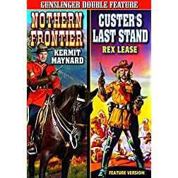 Western Double Feature: Northern Frontier (1935) / Custers Last Stand (1936)