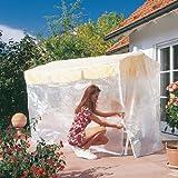 Friedola 15490 Wehncke Housse/Bâche de protection pour balancelle de jardin 210 x 150 x 139 cm