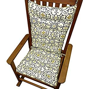 Rocking Chair Cushions Souvenir Scroll Fog