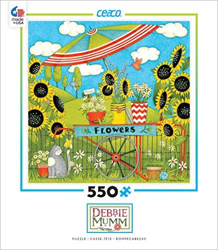 Ceaco Debbie Mumm - Flower Cart Puzzle