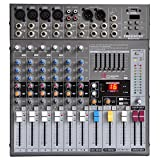 Freeboss Me82a 4 Mono 2 Stereo 8 Channels 16 DSP Audio Mixer with USB