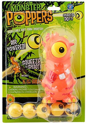 Monster Popper - Lanzador de pelotas de espuma