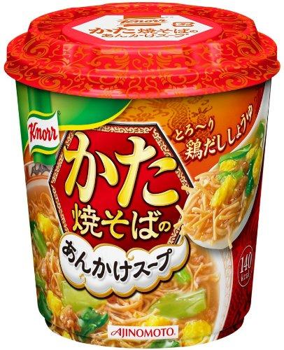 クノール かた焼きそばのあんかけスープ 鶏だししょうゆ 30.6g×6個