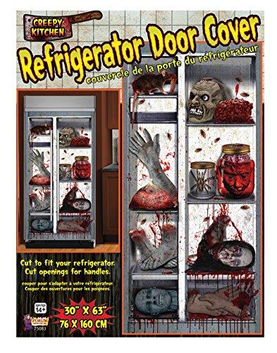 Forum Novelties Haunted House Refrigerator Door Cover  ~ 185336_Halloween Refrigerator Door Cover