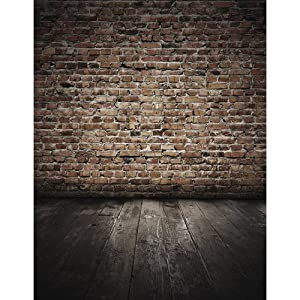 Printed Photography Background Brick Wall Tc047 Titanium Cloth Backdrop 5'x6' Ft (60
