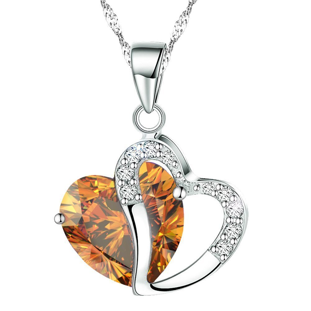 Heart gem Necklace + 49 More Cheap Gift Ideas Under 5 Dollars