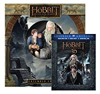 Hobbit, The: Battle of Five Armies Extended Edition with Figurine [3D Bluray + Ultra-Violet] (Amazon Exclusive) [Blu-ray] by Warner Home Video