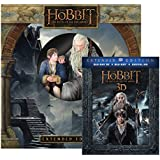Hobbit, The: Battle of Five Armies Extended Edition with Figurine [3D Bluray + Ultra-Violet] (Amazon Exclusive) [Blu-ray]