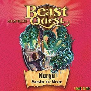 Narga, Monster der Meere (Beast Quest 15) Hörbuch