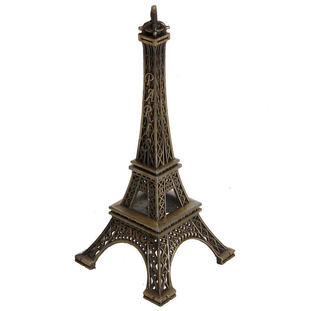 niceeshop(TM) Modelo Metálico de Eiffel Torre de la Decoración del , Bronce   revisión y más información