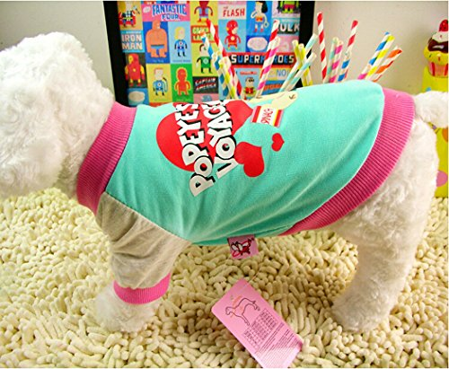 fashion-pet-dog-lovely-couple-popeye-oliver-leisure-cotton-t-shirtsuitable-for-spring-summer