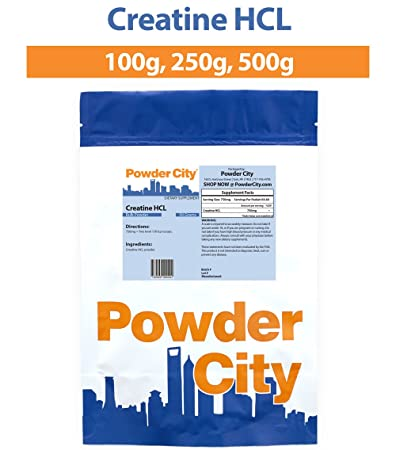 Powder City Creatine HCL (100 Grams) by Powder City