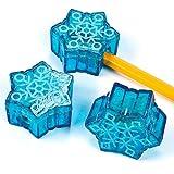 Snowflake Christmas Pencil Sharpeners (1 dz)