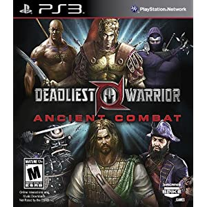 Deadliest Warrior: Ancient Combat Video Game for PS3