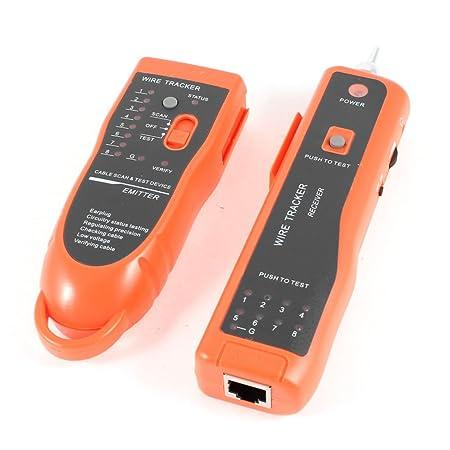 Gino Testeur réseau LAN RJ11 RJ45 Dispositif de scan de ligne