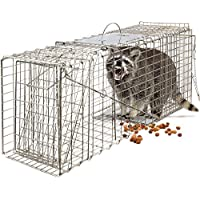 Humane Animal Trap 32x12x12 Steel Cage