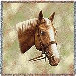 Palomino Horse Small Blanket