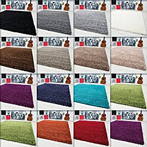 Shaggy carpets & rugs living room 3 cm pile height different colors and sizes 1500 from Carpetsale24
