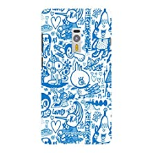 buy Homesogood Various Cartoon Characters White 3D Mobile Case For Oneplus 2 (Back Cover)